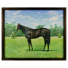 Thoroughbred  Equestrian Painting