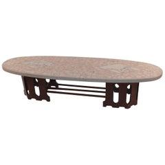 Terrazzo Top Surfboard Coffee Table