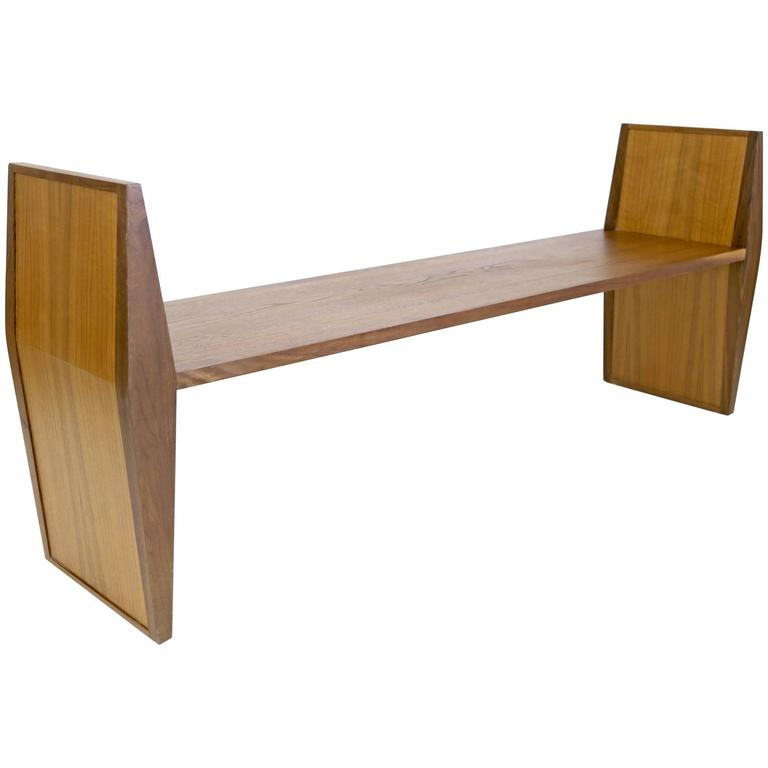 Sentient Sapience Bench in Walnut