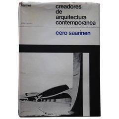 """Eero Saarinen creadores de arquitectura contemporánea"" Book"
