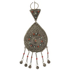 Large Vintage Moroccan Tribal Fibula