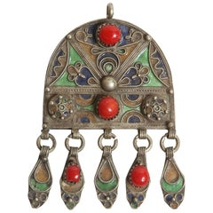 Vintage Moroccan Pendant