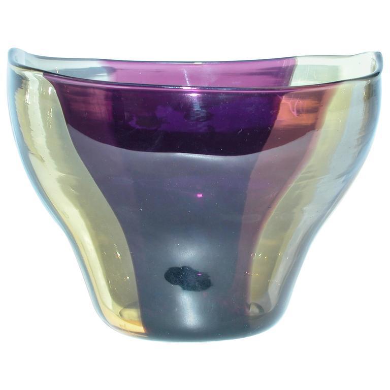 Spicchi Bowl by Fulvio Bianconi for Venini