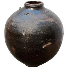 Antique Asian Storage Jar