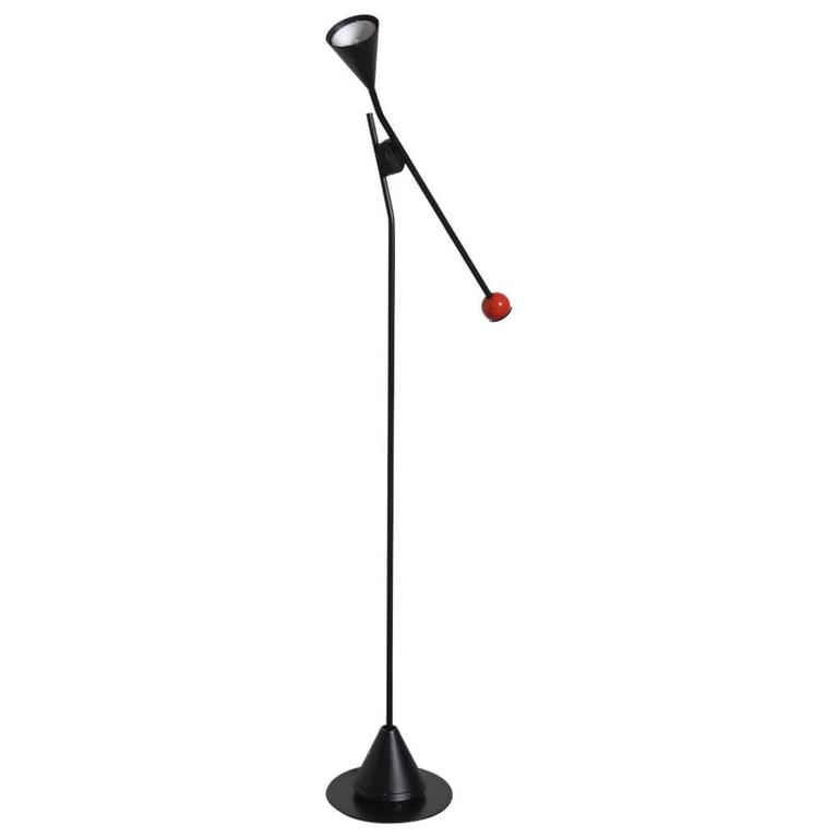 "Artemide Adjustable Floor Lamp, Model ""Ettore"" Designed by E.Gismondi"