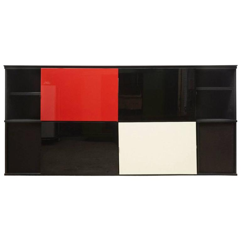 Acerbis 1980s Sideboard Designed by Lodovico Acerbis and Giotto Stoppino