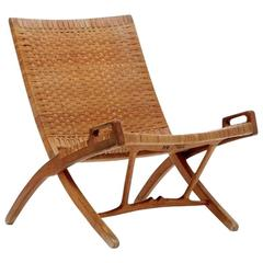 Hans Wegner JH-512 Folding Chair for Johannes Hansen