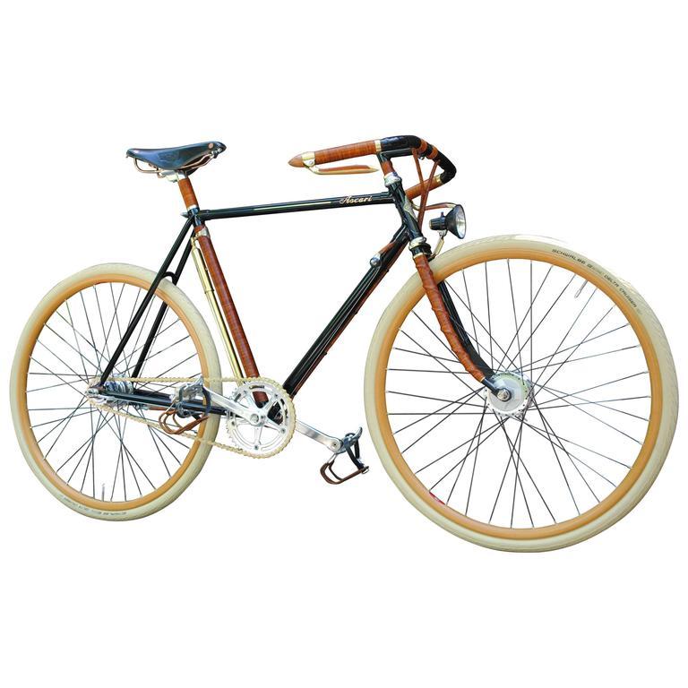 Rare Ascari Copper Custom Bicycle For Sale