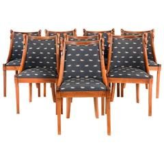 Empire-Style Solid Cherry Dining Chairs FS-565