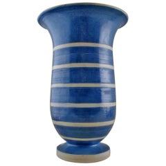 Very Large Kähler, HAK, Glazed Stoneware Vase