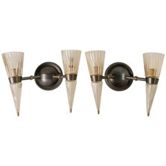Andre Arbus Sconces by Baker Furniture, Pair