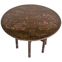 Early 20th Century Indian Tea Table