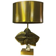Signed and Numbered Maison Charles Orchid Table Lamp