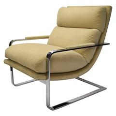 Lounge Chair by Milo Baughman for Thayer Coggin, circa 1975 Made in USA