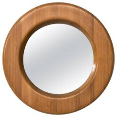 Erik Höglund Mirror in Oregon Pine Produced in Sweden