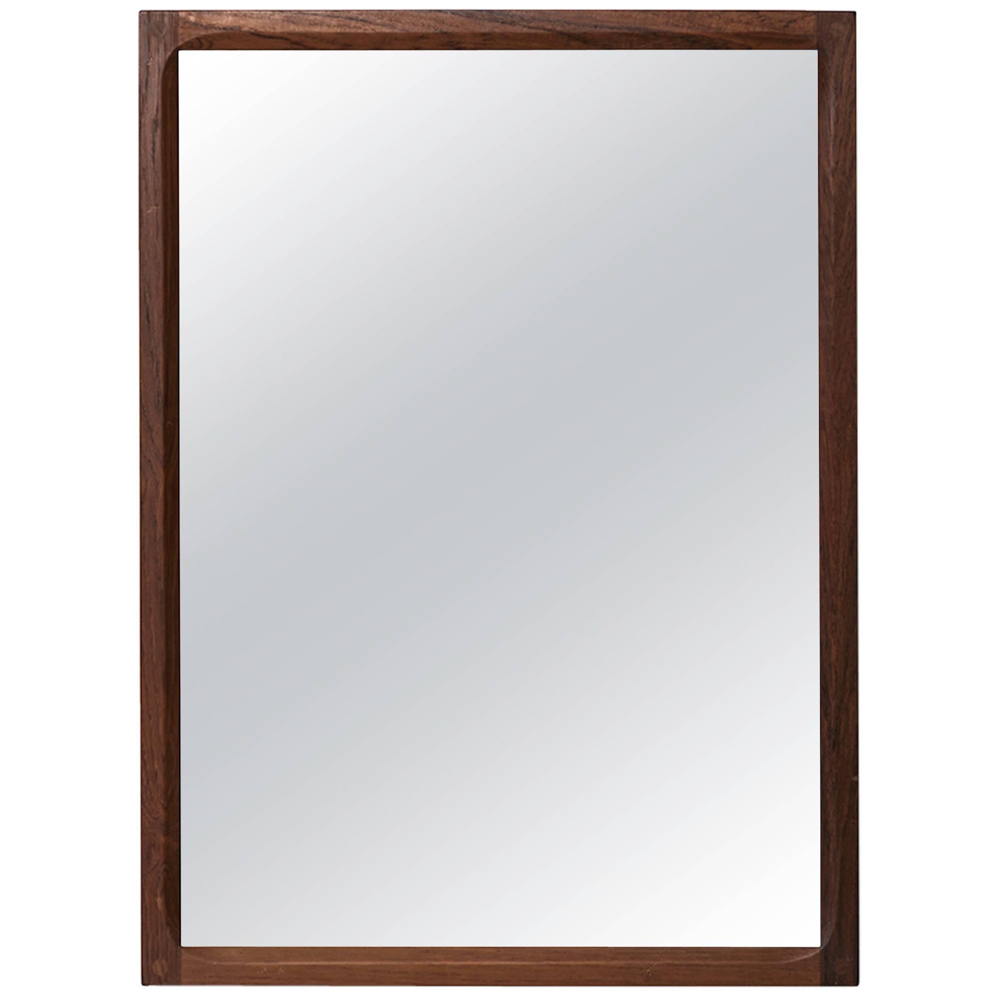 Aksel Kjersgaard Mirror in Rosewood by Odder in Denmark