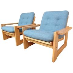 Rare Vintage Retro 1960s Dutch Pastoe Chairs
