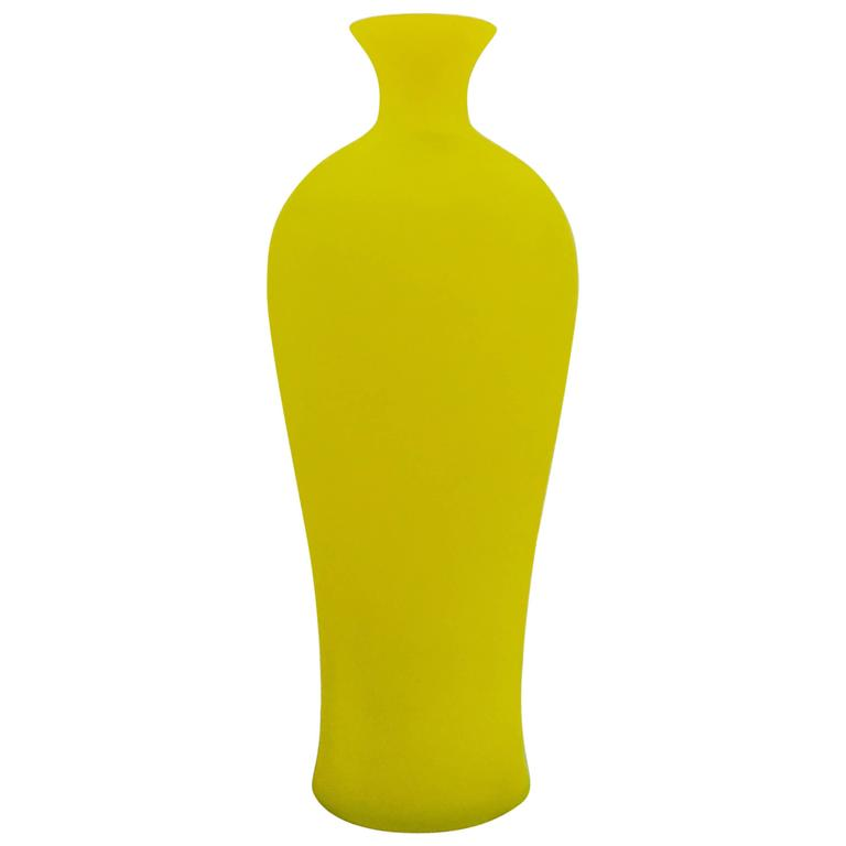 Italian Murano Glass Vase by Cenedese, circa 1970