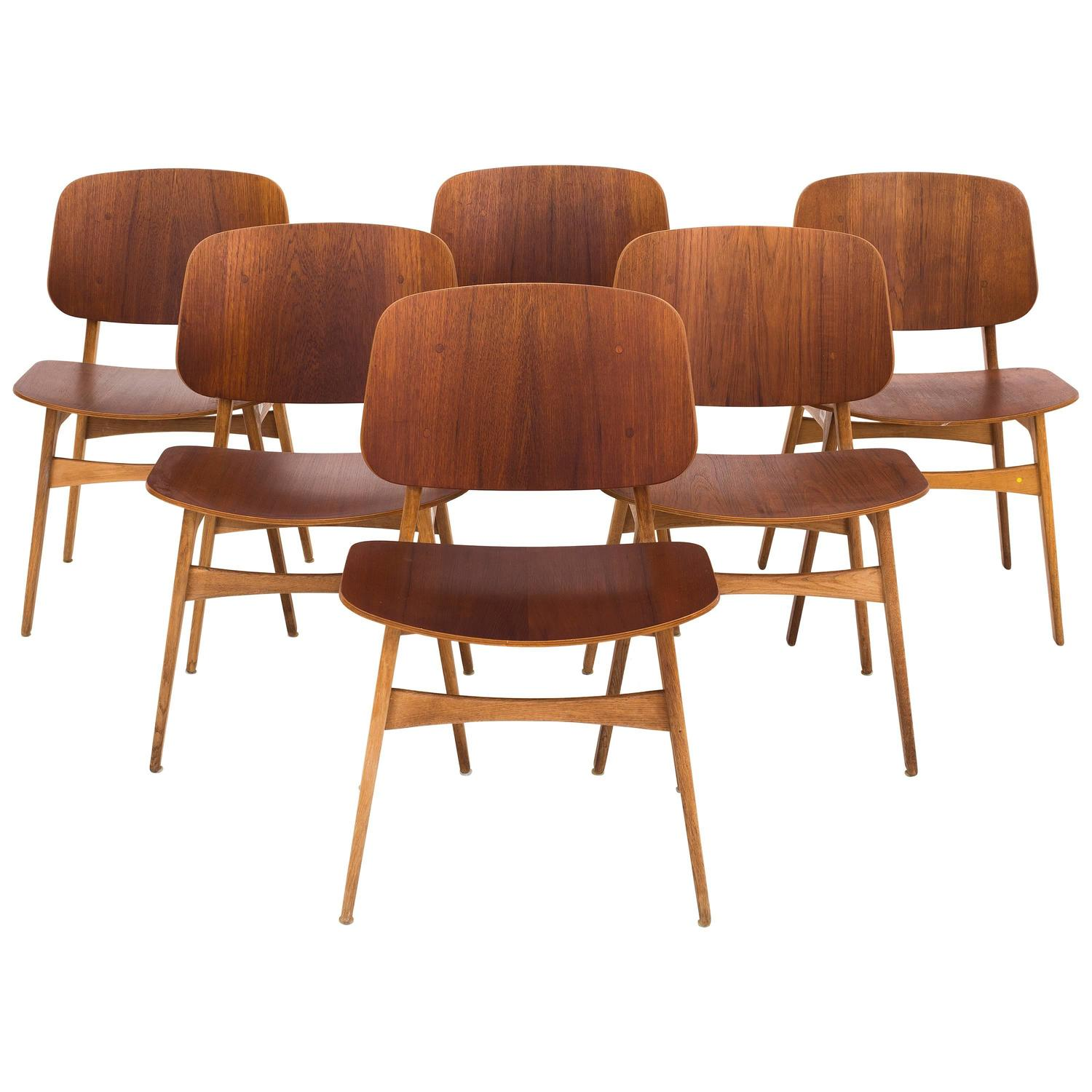 B¸rge Mogensen Dining Chairs Model 155 For Sale at 1stdibs