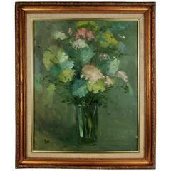 Flower Bouquet Oil Painting
