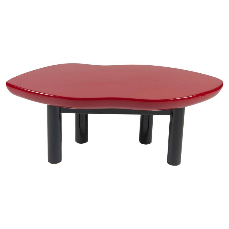 Joan Crawford Lips Lacquered Coffee Table by Jay Spectre