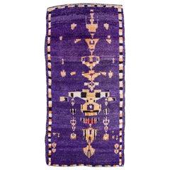 """Chandelier"" Moroccan Purple vintage Carpet"