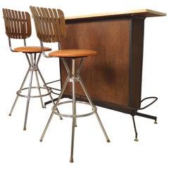 Mid-Century Modern Bar Set
