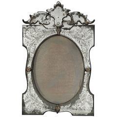 Venetian 19th Century Mirror