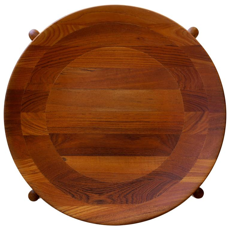 Teak Side Table Imported by Dux