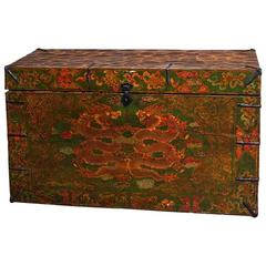 Painted Tibetan Trunk