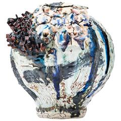 """Allergen"" Contemporary Porcelain Vessel by Gareth Mason"