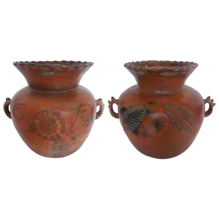 19th Century Ceramic Large Pots