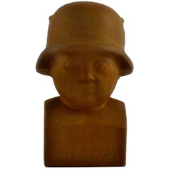 Rare Arno Malinowski Child Soldier in Terracotta, 1944