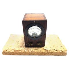 Vintage Weston Thermo-Galvanometer, Early 20th Century, as Sculpture
