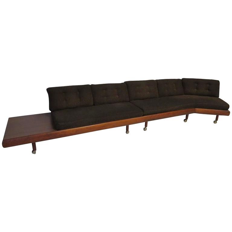 Unusual Sofas For Sale: Unusual Two-Piece Adrian Pearsall Sofa Sectional Boomerang