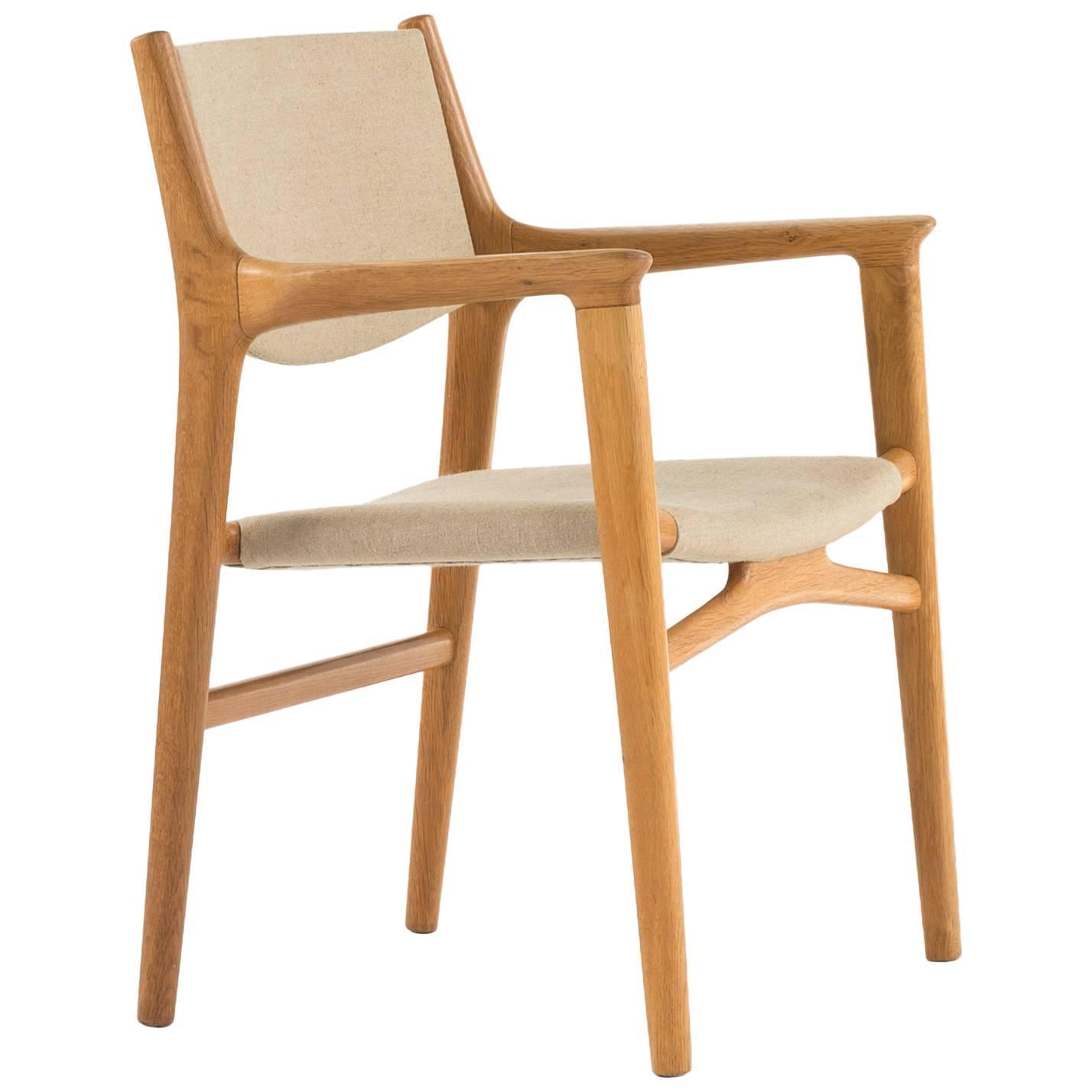 Hans Wegner Valet Chair in Teak for Johannes Hansen 1950s For