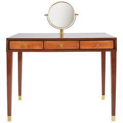 1950s Italian Vanity Table in the Style of Paolo Buffa