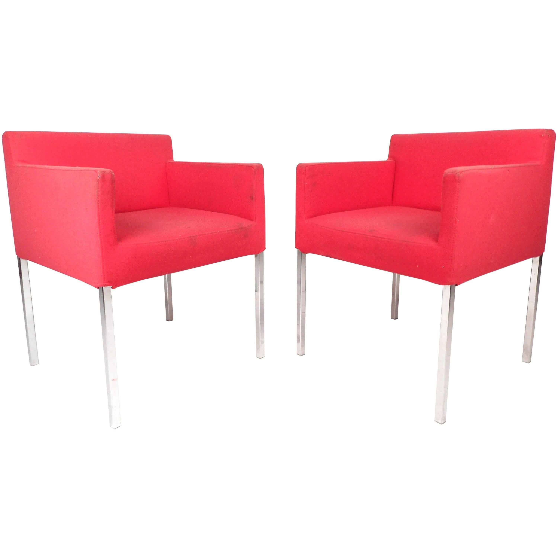 Mid-Century Modern Club Chairs