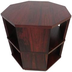 Fabulous Harvey Probber Octagon Side End Table Rare