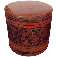 19th Century Burmese Food Container