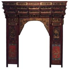 Qing Dynasty Chinese Wedding Bed