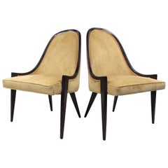 Harvey Probber Gondola Slipper Chairs