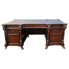 New Walnut Executive Desk Made by Scott Thomas