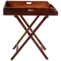 Antique English Butlers Tray