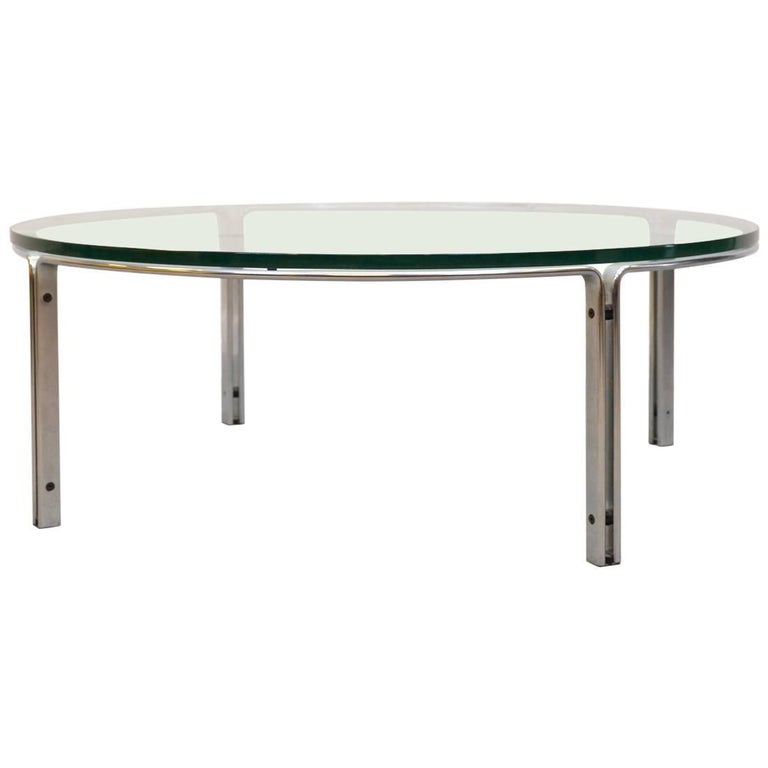 Coffee or Cocktail Table by Horst Brüning for Kill International, Germany For Sale