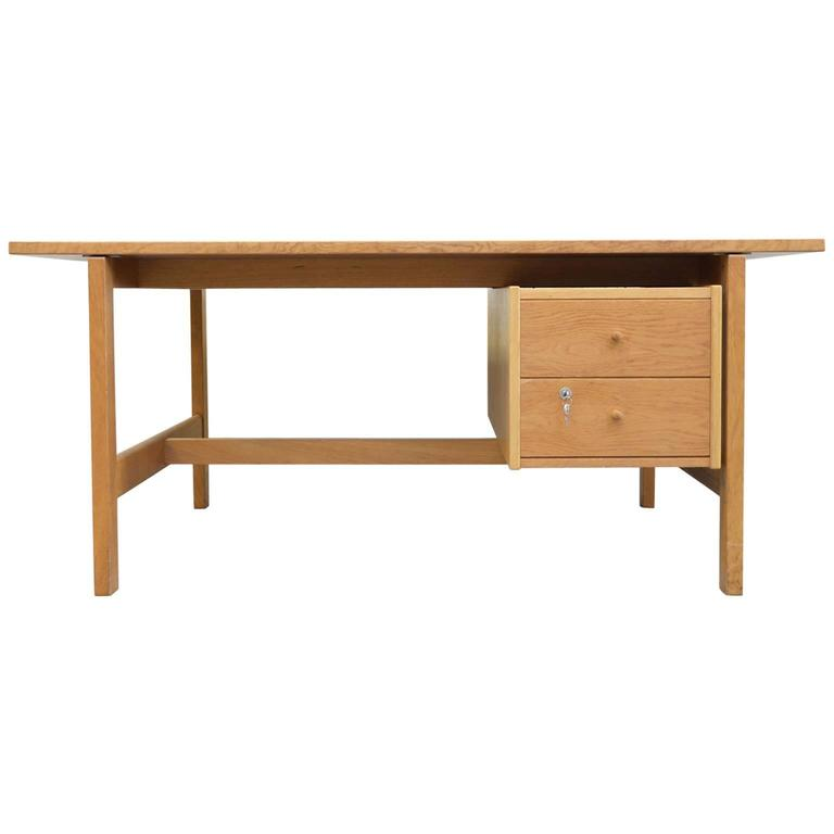 Hans Wegner Desk Model 156 In Oak For