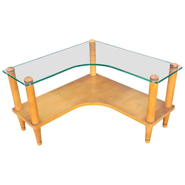 French Glass Top Coffee Table For Sale At 1stdibs