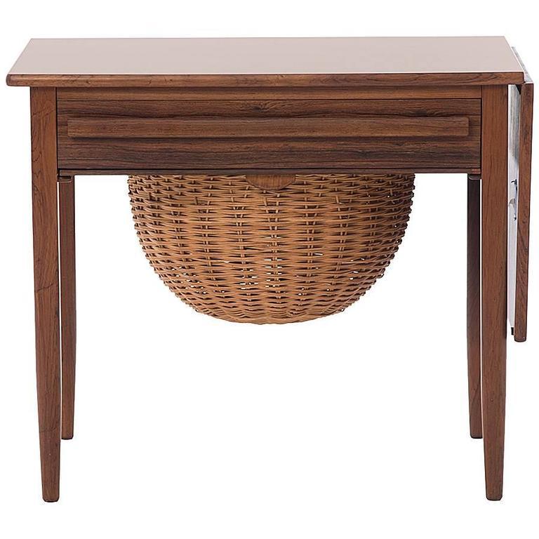 Danish Modern Sewing Table