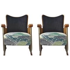 Vintage 1940s Theater Chairs