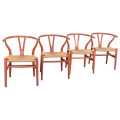 Hans J. Wegner Wishbone Chairs